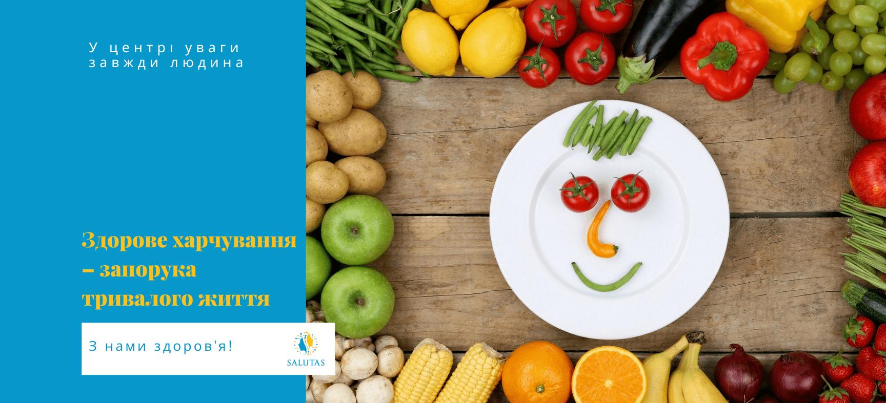 Важливість здорового харчування